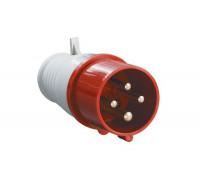 Вилка 014 3Р+РЕ 16А 380В IP44 TDM (30549)