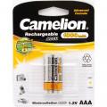 Элемент пит.Camelion Аккумулятор R3 (AAA)-1000mAh Ni-Mh BL2 (02065)  1шт