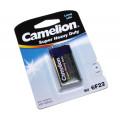 Элемент пит.Camelion крона 6F22 зеленая