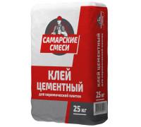 Клей плиточный цементный Самарские смеси  25кг
