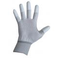 Перчатки нейлоновые FIBERN белые без точки
