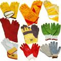 Перчатки Кож. комбинированные