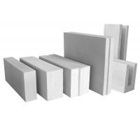 блоки из ячеистого газобетона 100*250*600