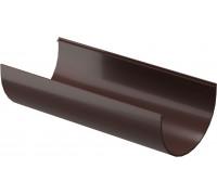 Желоб водосточный (Шоколад) 3м Деке