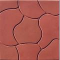 плитка Облако красная 350*350 мм (8шт.м2)