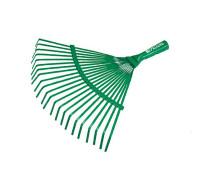 Грабли веерные 22 зуба, б/черенка PALISAD (зеленые)