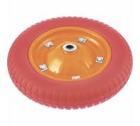 Колесо полиуретановое 4.80/4-8, длина оси 90 мм,подшипник 12 мм/PALISAD