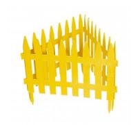 Забор декор РЕЙКА 28*300 желтый PALISAD
