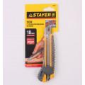 """Нож STAYER """"Мастер"""" 18мм 09161"""